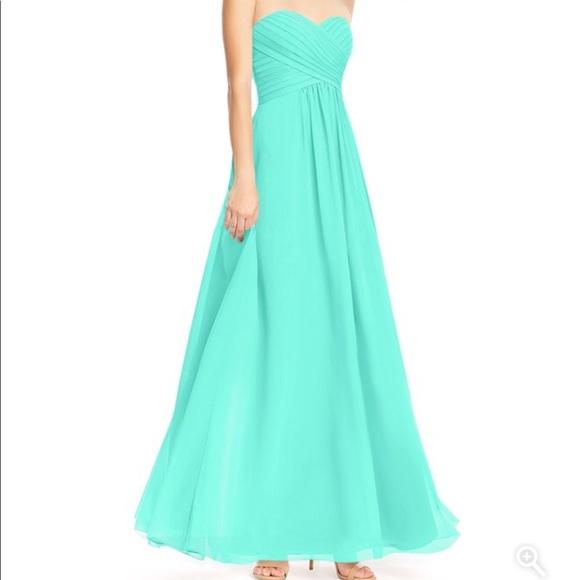 256cdb51baf Azazie Dresses   Skirts - Azazie bridesmaid dress in Spa color